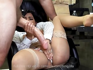 Big Dick Delivery with a Cum Facial and a side of lunch