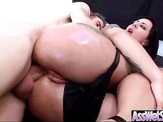 Curvy Booty Girl Get Oiled And Banged In Rear vid-11