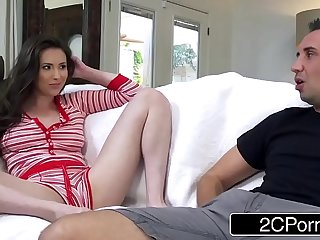 Stepbrother Sharing His Stepsister Casey Calvert With His Best Friend